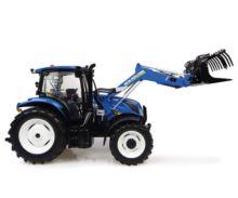 Réplica tractor NEW HOLLAND T6.145 con pala 740TL Universal Hobbies UH4956 - Ítem1