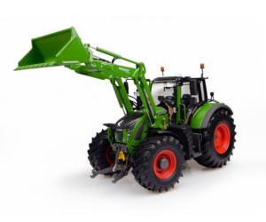 Réplica tractor FENDT 722 con pala Universal Hobbies UH4975