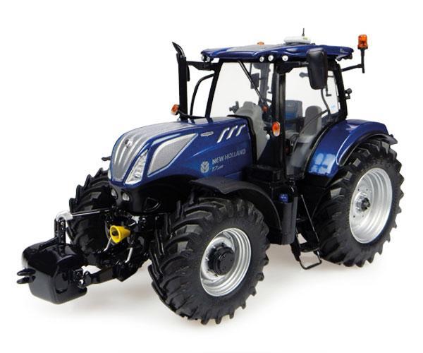 Réplica tractor NEW HOLLAND T7.225 Blue Power Universal Hobbies UH4976