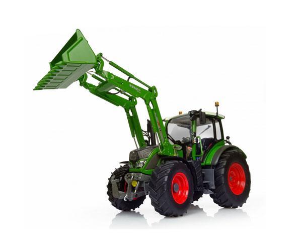 Réplica tractor FENDT 516 con pala Universal Hobbies UH4981 - Ítem3