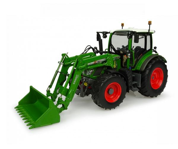 Réplica tractor FENDT 516 con pala Universal Hobbies UH4981
