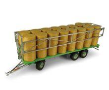 UNIVERSAL HOBBIES 1:32 Remolque transporte de pacas JOSKIN WAGO TR10000 T20 UH5225 - Ítem2