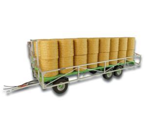 UNIVERSAL HOBBIES 1:32 Remolque transporte de pacas JOSKIN WAGO TR10000 T20 UH5225