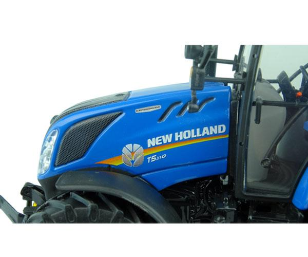 UNIVERSAL HOBBIES 1:32 Tractor NEW HOLLAND T5.110 UU5264 - Ítem8