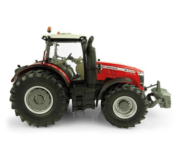 UNIVERSAL HOBBIES 1:32 Tractor MASSEY FERGUSON 8740S - Ítem1