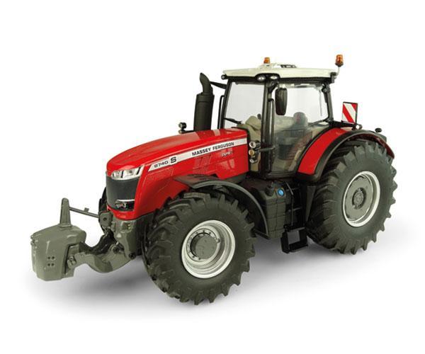 UNIVERSAL HOBBIES 1:32 Tractor MASSEY FERGUSON 8740S