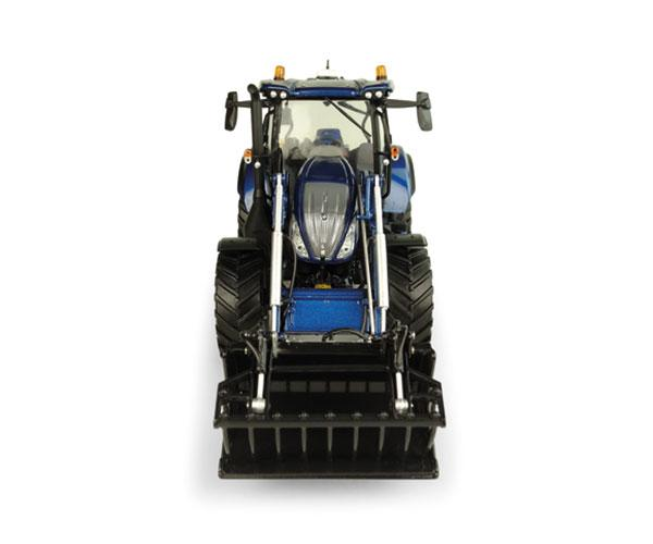 UNIVERSAL HOBBIES 1:32 Tractor NEW HOLLAND T6.175 Blue Power con pala 770 TL UH5320 - Ítem2