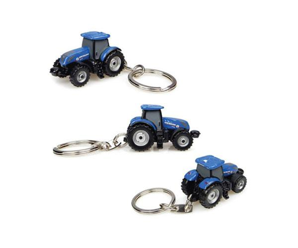 Llavero tractor NEW HOLLAND T7.225 Universal Hobbies UH5812 - Ítem1