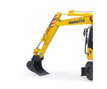 UNIVERSAL HOBBIES Excavadora KOMATSU PW148-10 UH8083 - Ítem5