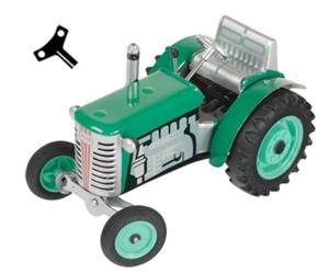 Tractor de cuerda ZETOR verde