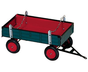 Remolque para tractor de cuerda LANZ