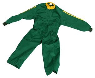 Mono infantil verde talla 126