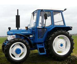 Replica tractor FORD 6610 Gen1, 4WD