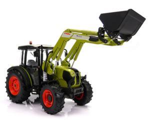 Réplica tractor CLAAS Elios 230 con pala Marge Models 1601