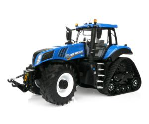 MARGE MODELS 1:32 Tractor NEW HOLLAND T8.435 Blue SmartTrax 1803