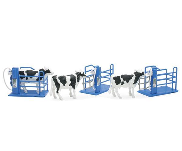 Pack de 3 vacas con cubículos New Ray 05016