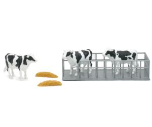 Pack 3 vacas con vallado New Ray 05016