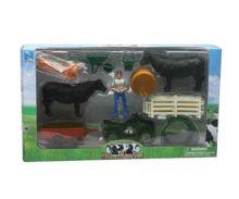 Pack granjero, vacas, vehículos y accesorios New Ray 05145a - Ítem1