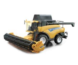 Miniatura cosechadora NEW HOLLAND CR9090