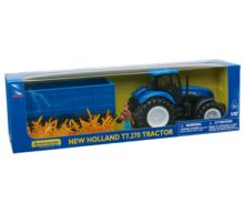 Pack miniatura tractor NEW HOLLAND con remolque y granjero - Ítem2