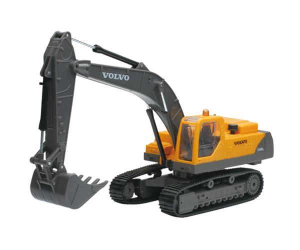 Excavadora RC radio control VOLVO EC460B con luces y sonido New Ray 88753