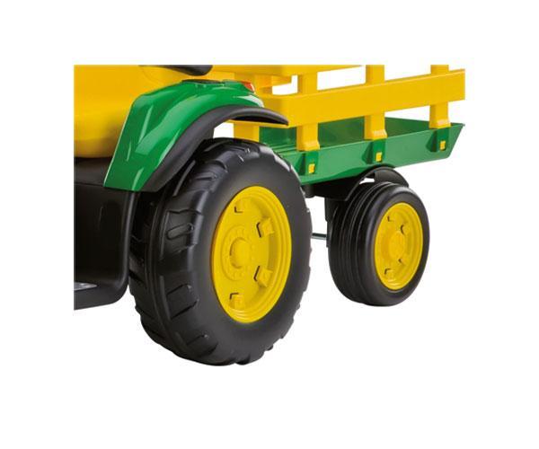 Tractor infantil de batería JOHN DEERE con remolque Peg-Perego OR0047 - Ítem8