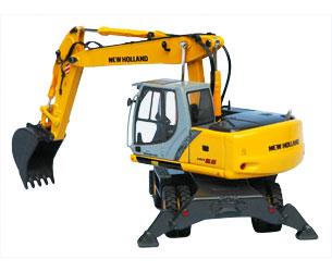 Miniatura excavadora NEW HOLLAND MH 5.6