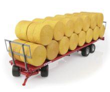 Réplica remolque MAUPU transporte pacas cilíndricas - Ítem1