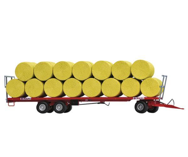 Réplica remolque MAUPU transporte pacas cilíndricas - Ítem2