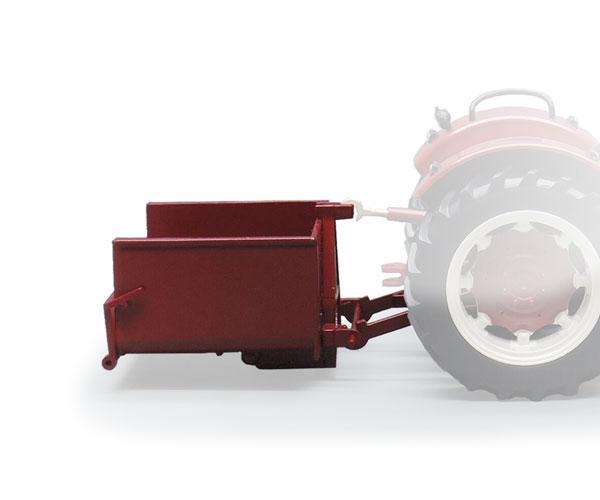 Miniatura caja transporte tractor Replicagri REP0140