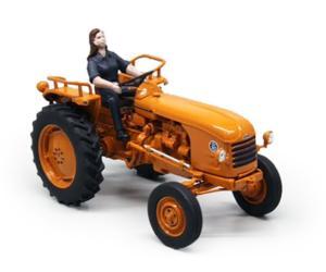 Réplica tractor RENAULT D30 con conductora Replicagri REP143