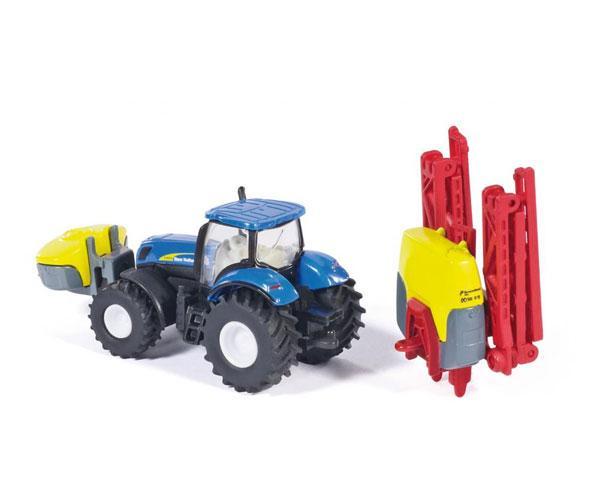 Miniatura tractor NEW HOLLAND con pulverizador KVERNELAND Siku 01799 - Ítem3