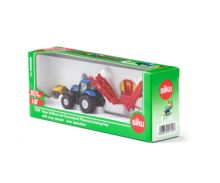 Miniatura tractor NEW HOLLAND con pulverizador KVERNELAND Siku 01799 - Ítem5