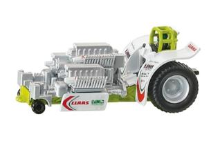 Miniatura tractor pulling CLAAS