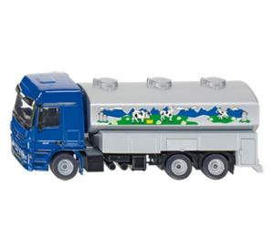 Miniatura camion cisterna de leche