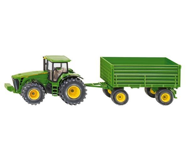 tractor john deere 8430 con remolque