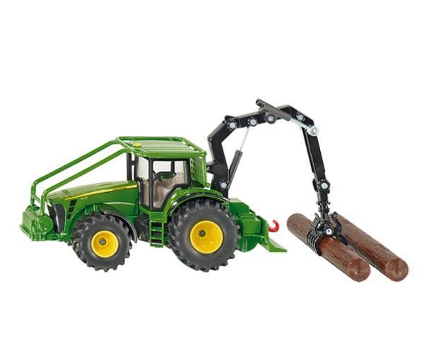Miniatura tractor forestal JOHN DEERE