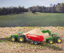 Miniatura tractor JOHN DEERE 430 con pala - Ítem1