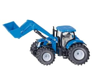 Miniatura tractor NEW HOLLAND con pala