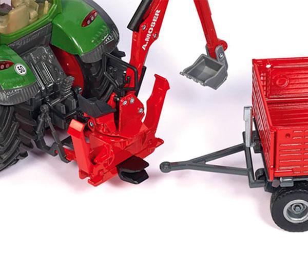 Miniatura excavadora A.MOSER para acoplar al tractor - Ítem1