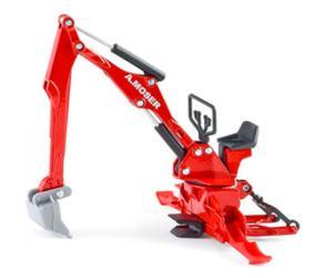 Miniatura excavadora A.MOSER para acoplar al tractor