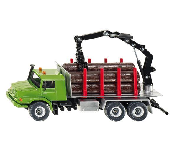 Miniatura camion forestal MERCEDES BENZ