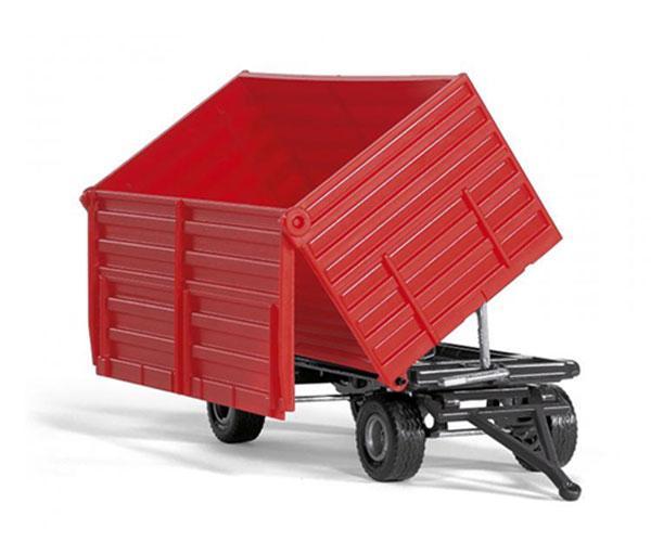 Miniatura remolque rojo Siku 02898 - Ítem1