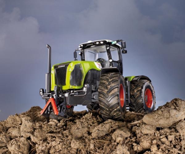 miniatura tractor claas xerion 5000 - Ítem1