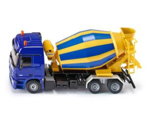 Miniatura camión MERCEDES BENZ Actros con hormigonera LIEBHERR Siku 3539