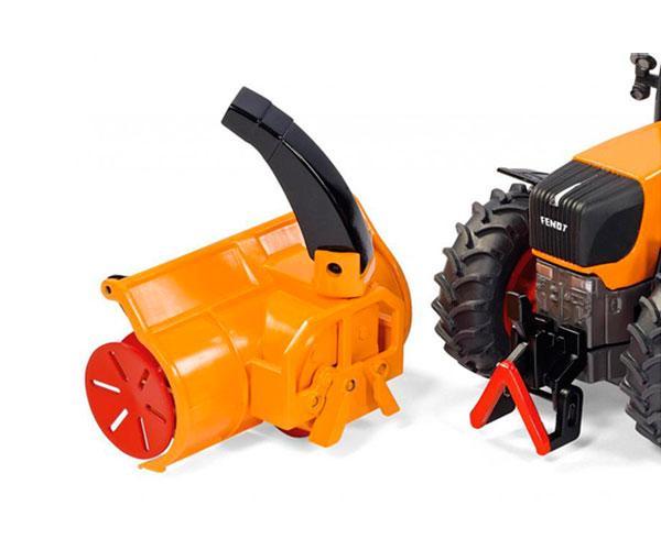 Miniatura tractor servicios FENDT 930 Vario con cortadora de nieve Siku 3660 - Ítem5