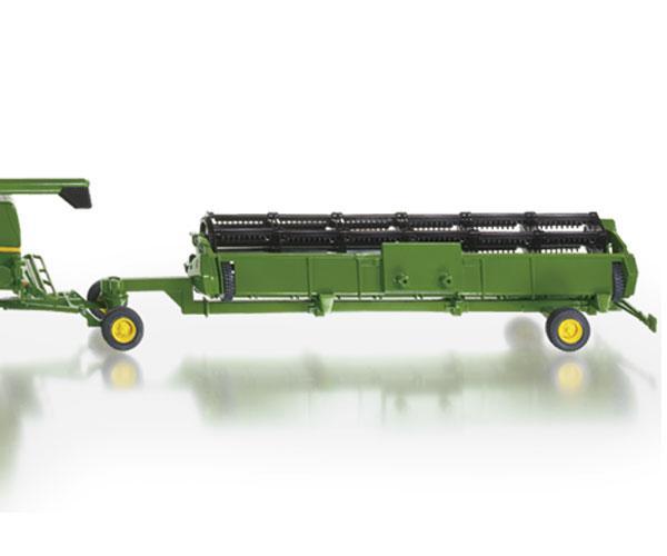 Miniatura cosechadora JOHN DEERE T670i con corte y carro - Ítem1