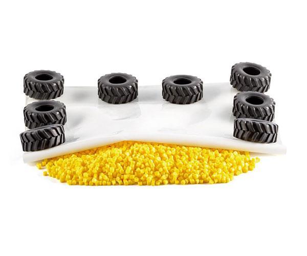 Toldo y neumáticos Siku 5698