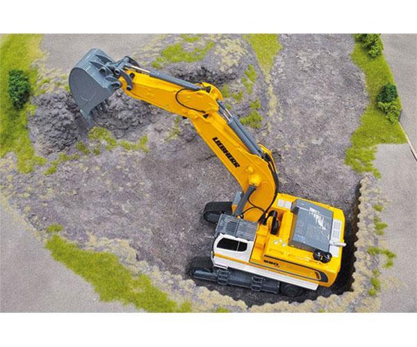 Excavadora RC radio control LIEBHERR R980 SME Siku 6740 - Ítem4