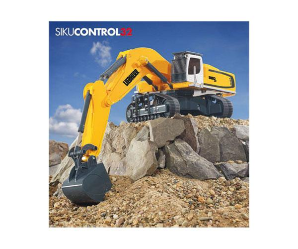 Excavadora RC radio control LIEBHERR R980 SME Siku 6740 - Ítem5